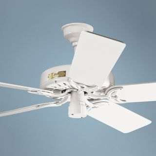 "52"" Classic Original White Ceiling Fan   #78188"