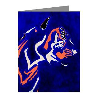 Original Abstract Tiger Art Note Cards (Pk of 20) by rustinjarrell