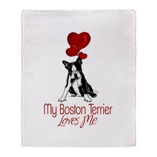 Boston Terrier Love Stadium Blanket for $59.50