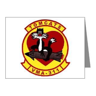 Marine Corps Christmas Thank You Note Cards