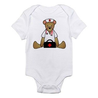 911 Gifts  911 Baby Clothing  Teddy Bear Medical Infant Bodysuit