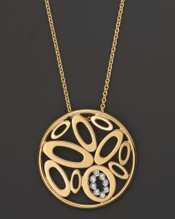 Roberto Coin 18 Kt. Yellow Gold/Diamond Chic and Shine Necklace