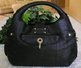Kate Spade Leather Kent Alessandra Purse Bag Black