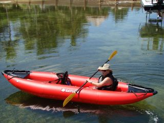 13ft 2 Person Saturn Commercial Grade Inflatable Expedition Kayak