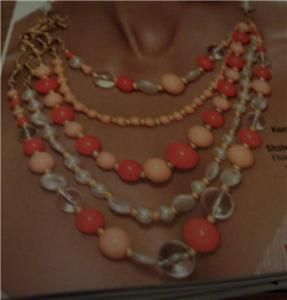 Avon Kenneth Jay Lane Branch Out Statement Necklace