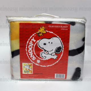 Peanuts Snoopy Baby Kids Bed Soft Polar Fleece Throw Quilt Blanket 125