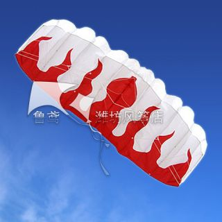 Stunt Parafoil Power Sport Flame Kite Outdoor Toys Wholesale