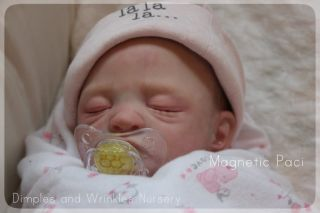 REBORN PREEMIE BABY GIRL DOLL* DIMPLES AND WRINKLES NURSERY*LIFELIKE