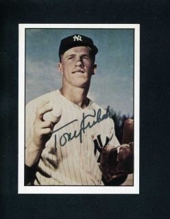 1979 TCMA #244 TONY KUBEK Card SIGNED JSA New York Yankees Baseball