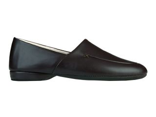 Evans Duke Opera Mens 8 5 M Indoor Black Leather Slipper Exquisite