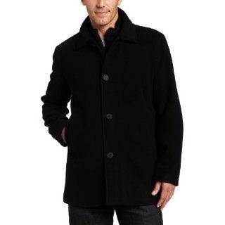 Cole Reaction Mens Patrick Coat Jacket M L Charcoal Black New