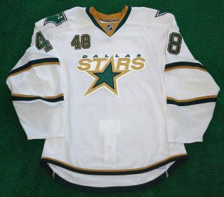 NHL Dallas Stars John Lammers Game Worn Jersey 2008 09 Meigray LOA