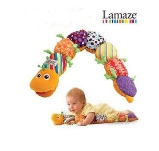 Free New Toy Lamaze Musical Inchworm Pleasing Baby Toys