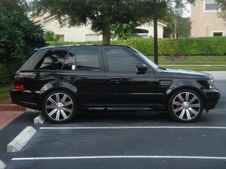 Rims Range Rover Sport HSE Land Rover LR3 4 Rims and Caps
