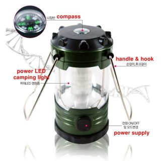 Camping Lantern LED lamp light / Fishing & Family Camping at night