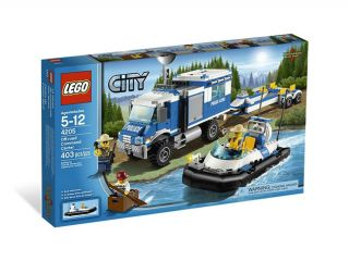 Brand Korea Lego City Police 4205 Figures Sets Off Road Command Center