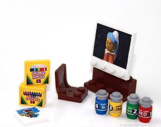 Artist Supplies Accessories Lego® Custom food 10185 10182 city, Train