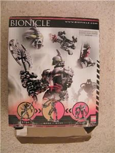 Lego Bionicle Boxed AXONN Figure TITAN Set 8733 & Instructions 100%