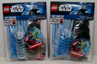 Lego Star Wars Birthday Party Favor Packs 16 Plates Cups Napkins