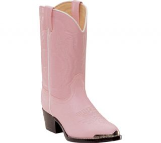 Durango BT858 Boots Cowboy Shoe Pink Youth Kid Girls Sz