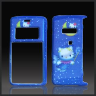 Hello Kitty Blue Case Cover Faceplate LG VX9100 enV2