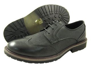 New Mens Robert Wayne Atlas Black Oxford Shoes All Sz