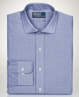 Ben Sherman Dress Shirt, Gingham Long Sleeve Shirt   Mens Dress Shirts