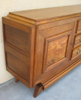 Reference # 8030  Magnificent French Antique Art Deco Sideboard