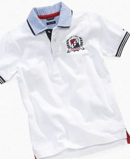 Hilfiger Kids Shirt, Boys Carl Pique Polo   Kids Boys 8 20