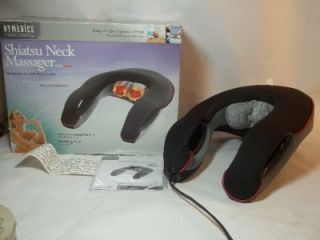 Homedics Shiatsu Neck Massager w Heat NMS 300