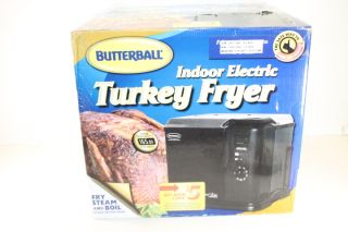 20010611 BUTTERBALL PROFESSIONAL SERIES INDOOR ELECTRIC TURKEY FRYER