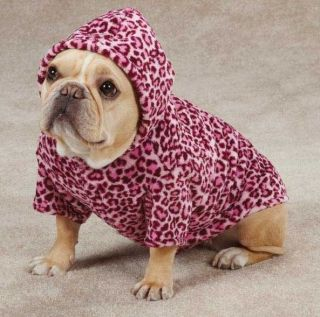 Dog Animal Print Cuddler Hoodie Sweater Hoodies Pet Leopard Zebra