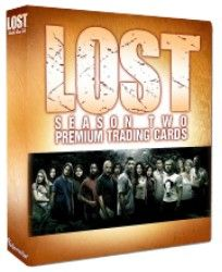 Inkworks Lost Season 2 Trading Card Binder New Collector Album Loose
