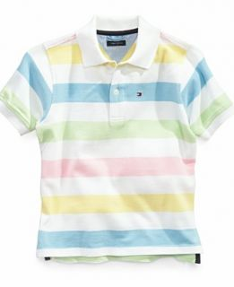 Tommy Hilfiger Kids Shirt, Little Boys Shawn Striped Polo