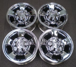 Full set of four (4) wheels from used 2006 2009 Dodge 2500/3500