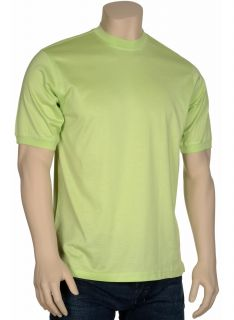 Tricots St Raphael Mens T Shirt Small s Crewneck Green Cotton Tee $45