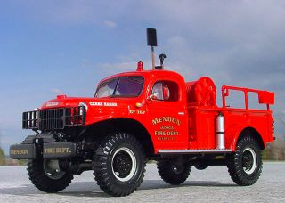 VR Mendon NY Dodge Power Wagon Firetruck First Gear