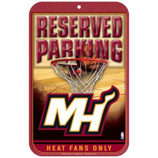 Miami Heat 11 x 17 Reserved Parking Sign
