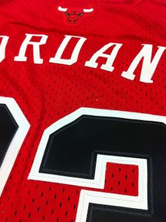 Michael Jordan Chicago Bulls 23 Swingman Away Red Jersey