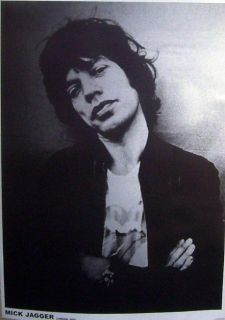 Mick Jagger London 1975 Rolling Stones Music Concert Poster Print RARE