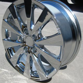 STOCK 4 NEW 17 FACTORY TOYOTA AVALON OEM CHROME RIMS WHEELS 2011 2013