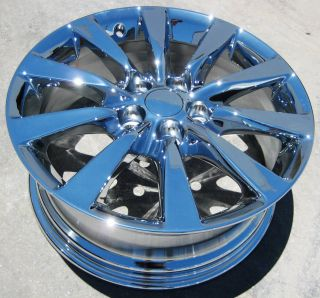 Stock 18 Factory Lexus LS460 LS600 Chrome Wheels Rims 2010 13