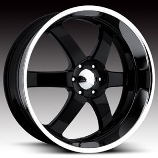 GM Escalade Tahoe Suburban Denali 20 Black Wheels Rims