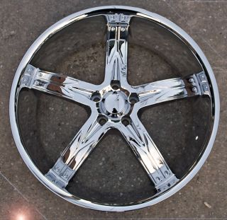RVM 762 22 Chrome Rims Wheels Benz ML320 ML350 ML500