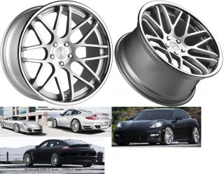 Magic Wheels for Porsche Cayenne Panamera Audi Q7 Rims Caps Set