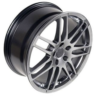 18 Fits Audi New RS4 Wheels Rims Tires Hyper Silver