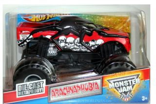 2012 Hot Wheels Monster Jam Arachnaphobia 1 24 Scale