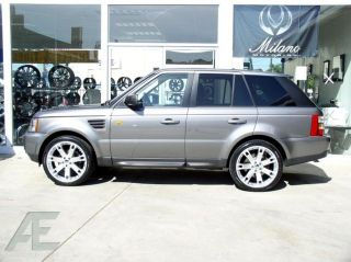 22 Range Rover Wheels Tires SE HSE Sport Supercharged
