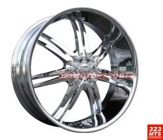 26 inch Rims Expedition Lincoln Navigator Bentchi B14