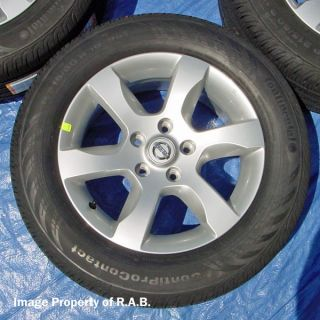 Nissan Altima 16 Wheels Conti Tires Maxima G35 Q45